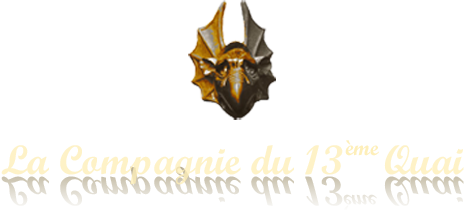 Logo de la Compagnie du 13ème Quai