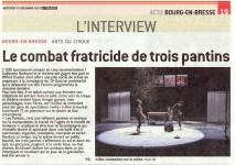 article de presse sur Les Pantins
