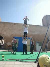 Les Contes Cirque, le spectacle