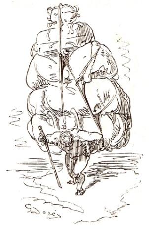 Illustration Von Munchausen