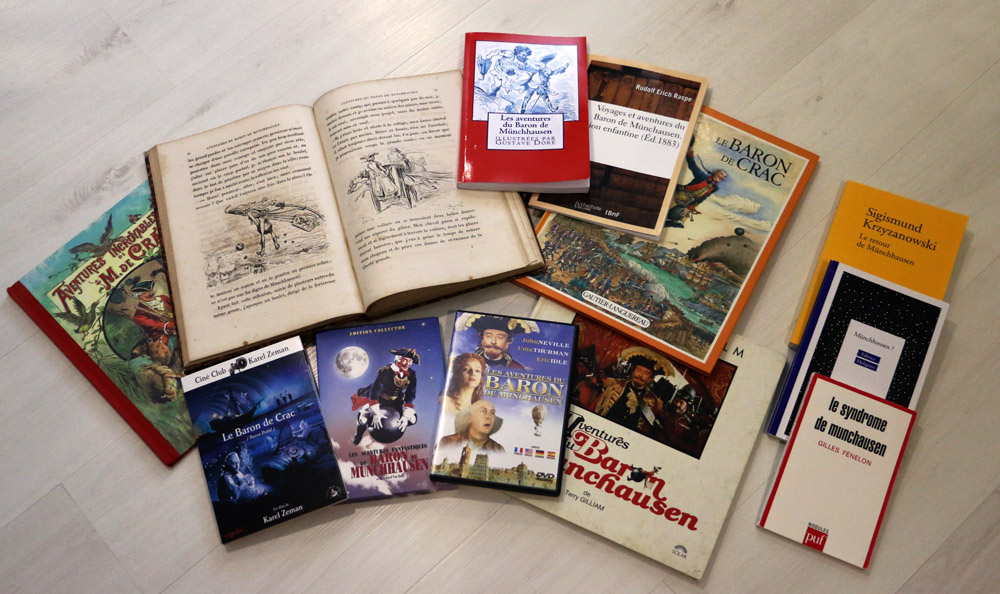 livres Von Münchausen