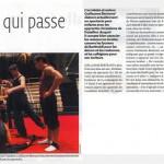 Article de presse sur Les Contes Cirque