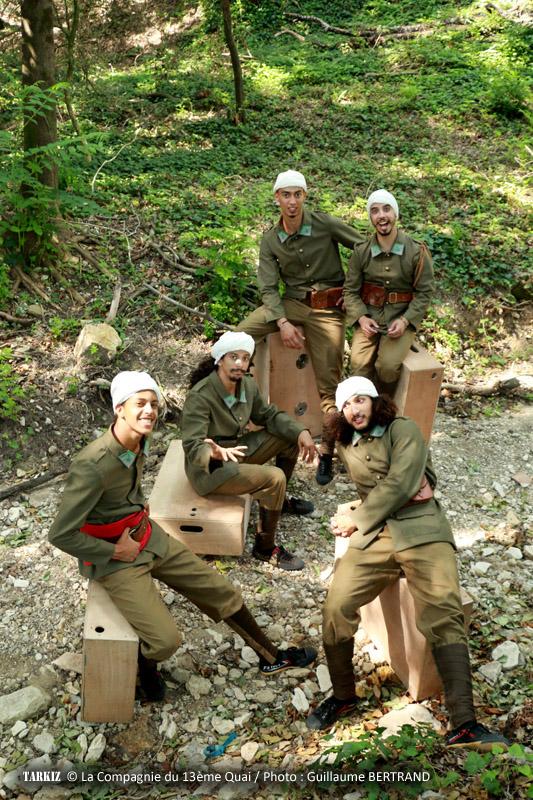 Spectacle Tarkiz - Compagnie du 13ème Quai